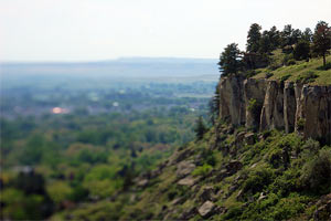 Overlooking Billings